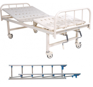 WELLTON HEALTHCARE FULL FOWLER HOSPITAL BED WH-107 A