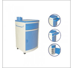 Wellton Healthcare ABS Bed Side Locker, WH1151