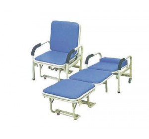 Wellton Healthcare Bed Cum Chair Type Attendant Bed WH- 017